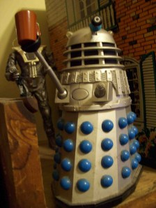 The Dalek approves of coffee, too!
